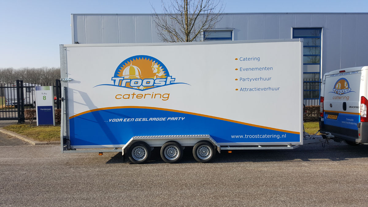 Autoreclame Troost Catering